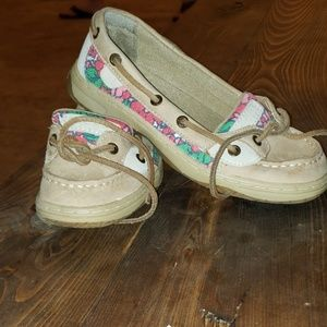 Girls Sperry shoes